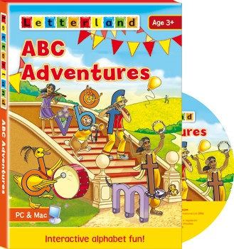 ABC Adventures CD-ROM